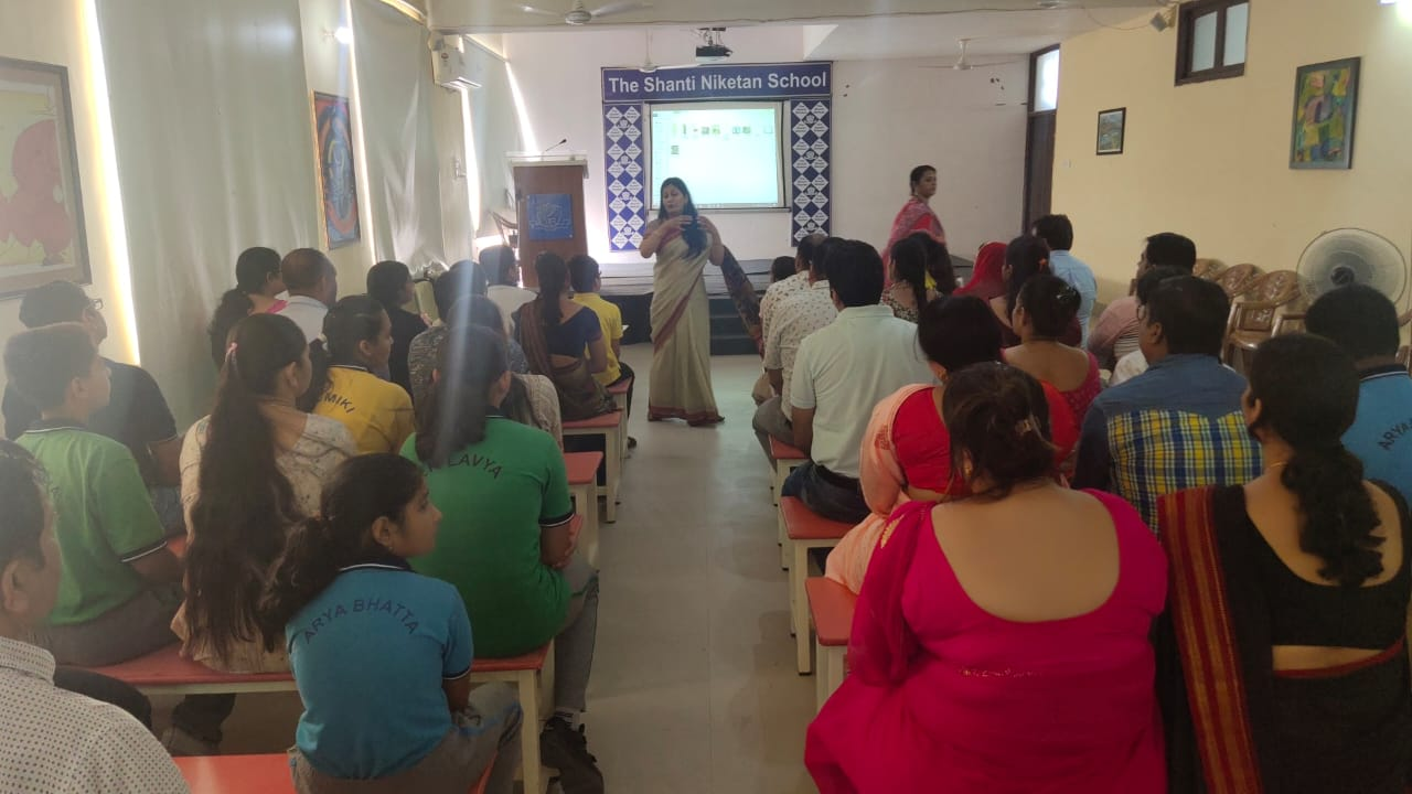 Interactive session for parents